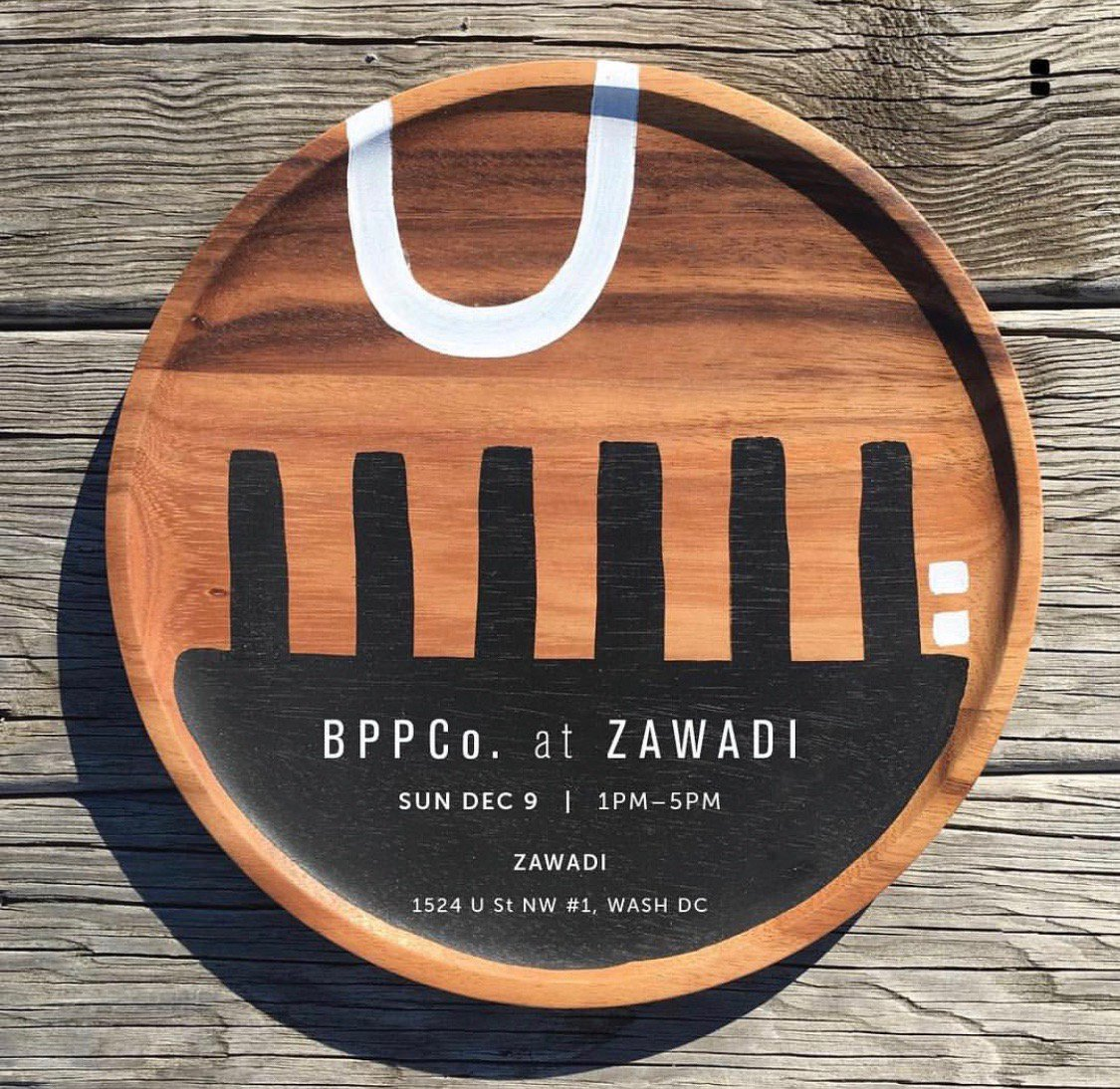 We are excited to host & support Hadiya Willams from Black Pepper Paperie Co December 9th from 12-5PM.  #ShopZawadi for your holiday gifts & purchase handmade clay ware, Jewelry & print works this weekend!
