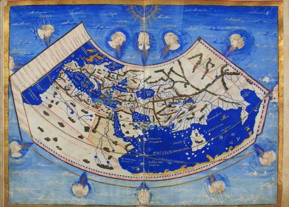 Latin translation of «Cosmographia» (#Cosmography - By #Ptolemy) https://t.co/a7mWYhSDbF [#Geocentrism #Geocentric #GeocentricModel #PtolemaicSystem #Maps #FlatEarth] https://t.co/fhgaYRD5w8 #Europe #Asia #Africa https://t.co/HdAD7OIiWI https://t.co/8KFoyYqx3D