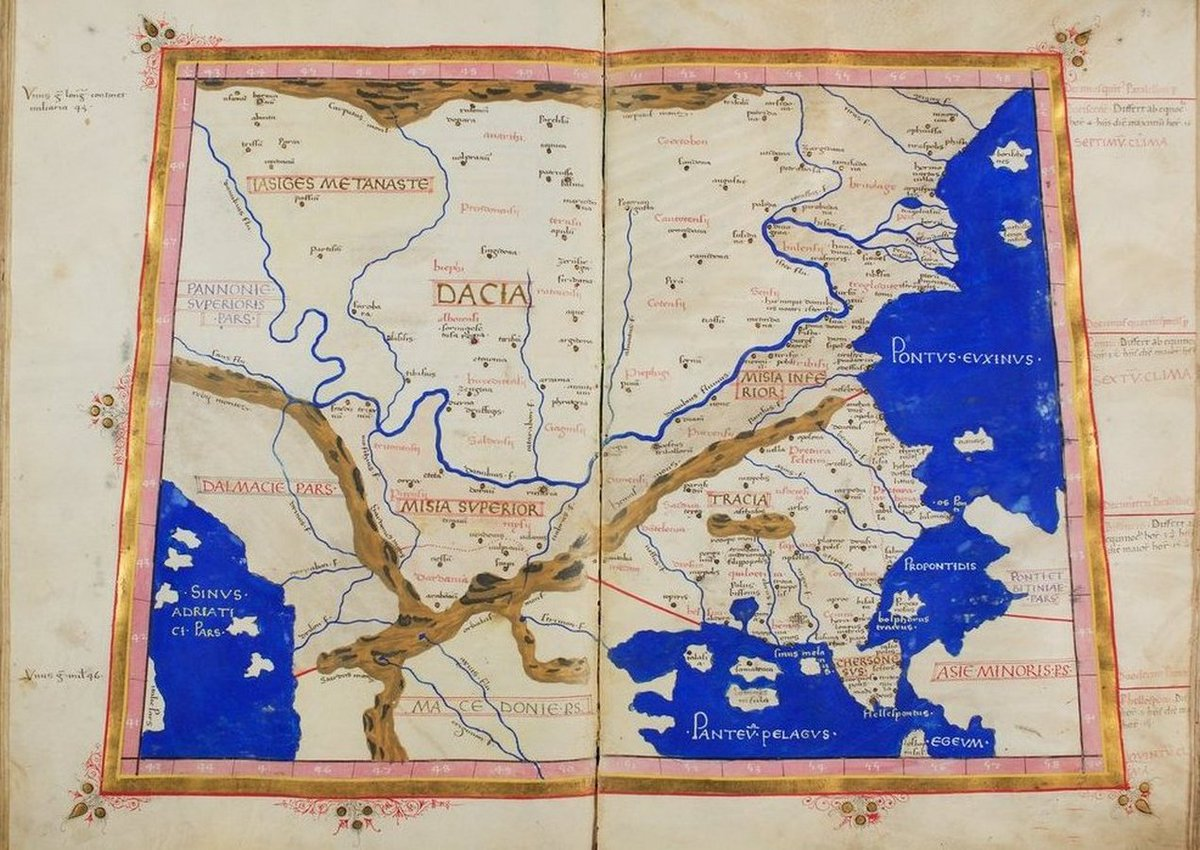 Latin translation of «Cosmographia» (#Cosmography - By #Ptolemy) https://t.co/a7mWYhSDbF [#Geocentrism #Geocentric #GeocentricModel #PtolemaicSystem #Maps #FlatEarth] https://t.co/fhgaYRD5w8 #Macedonia #Thrace #Greece🇬🇷 #Dacia #Romania🇷🇴 https://t.co/oTcl4nHDMx https://t.co/dlLvMtepUE