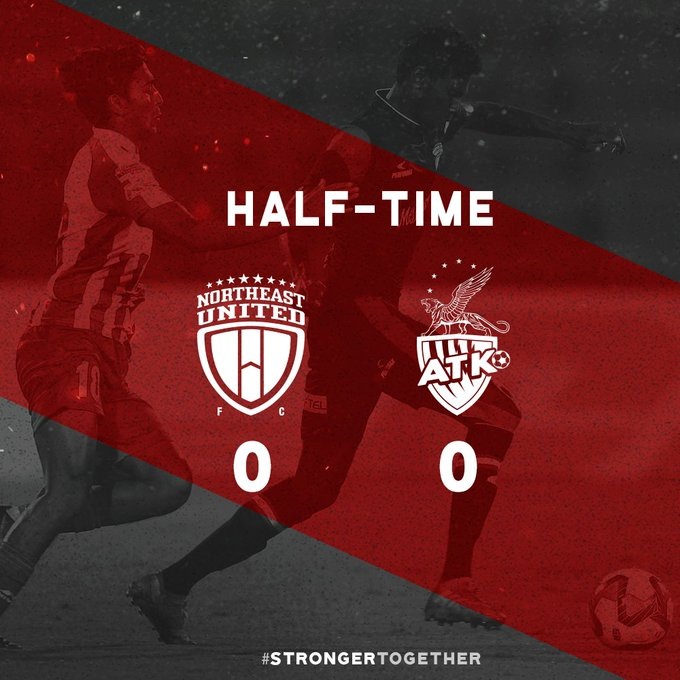 HALF-TIME All square at Sarusajai though both teams had chances to break the deadlock! #NEUKOL Photo