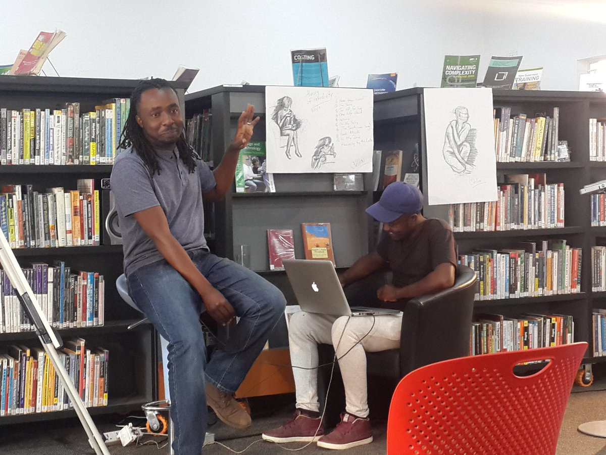 So happy to be hosting a listening session for @mellowcremelove new HipHop Soul album in our #Library as he prepares for the launch coming soon. Great mellow vibe with some good music
