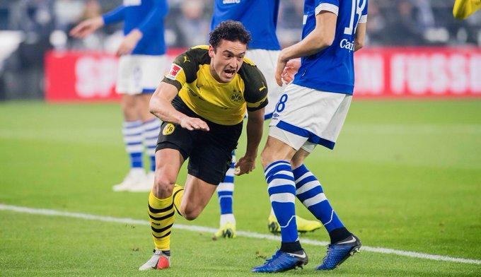💛 Dieser Moment, wenn du dein erstes Tor für den BVB @delaneydk #S04BVB 0️⃣-1️⃣ Foto