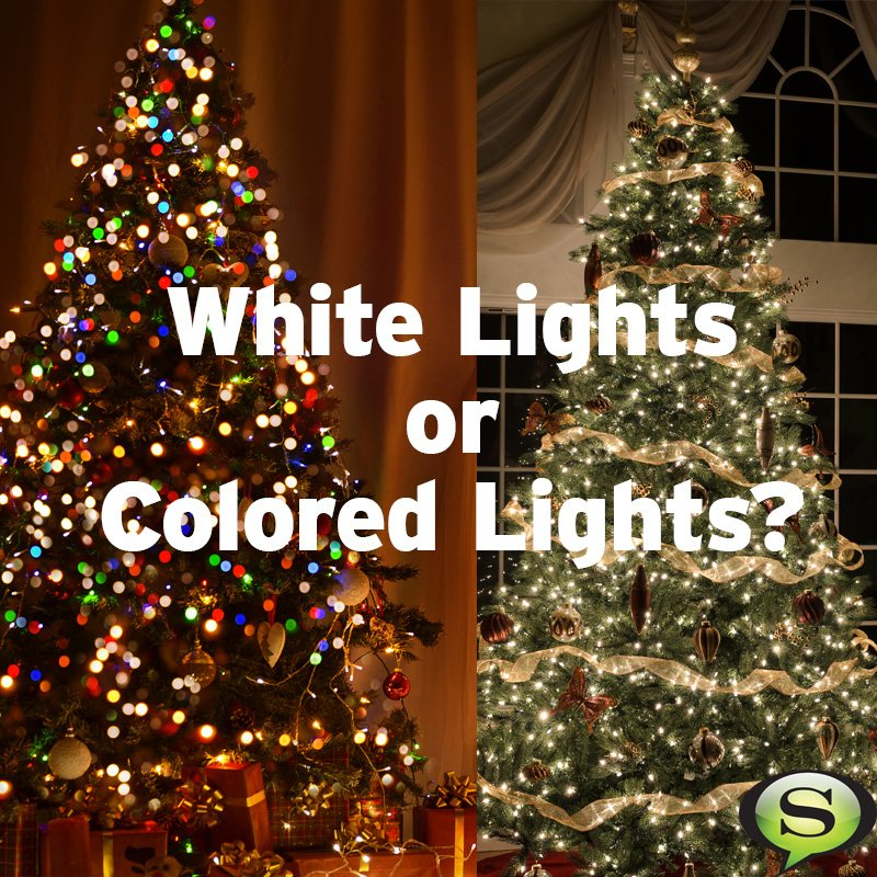 QOTD: what's your favorite? White lights or colored lights? https://t.co/bv6ZNeOOQU