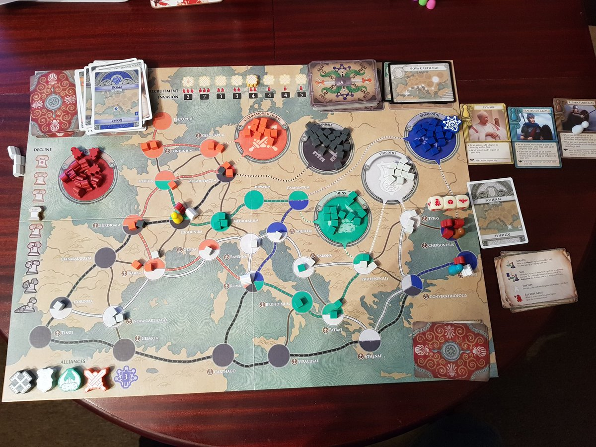 c41b6c07ffb ... and this one was solo. Four alliances made, and then the Regina  Foderata wiped out the remaining Ostrogoths to take the win. #Pandemicpic. twitter.com/ ...