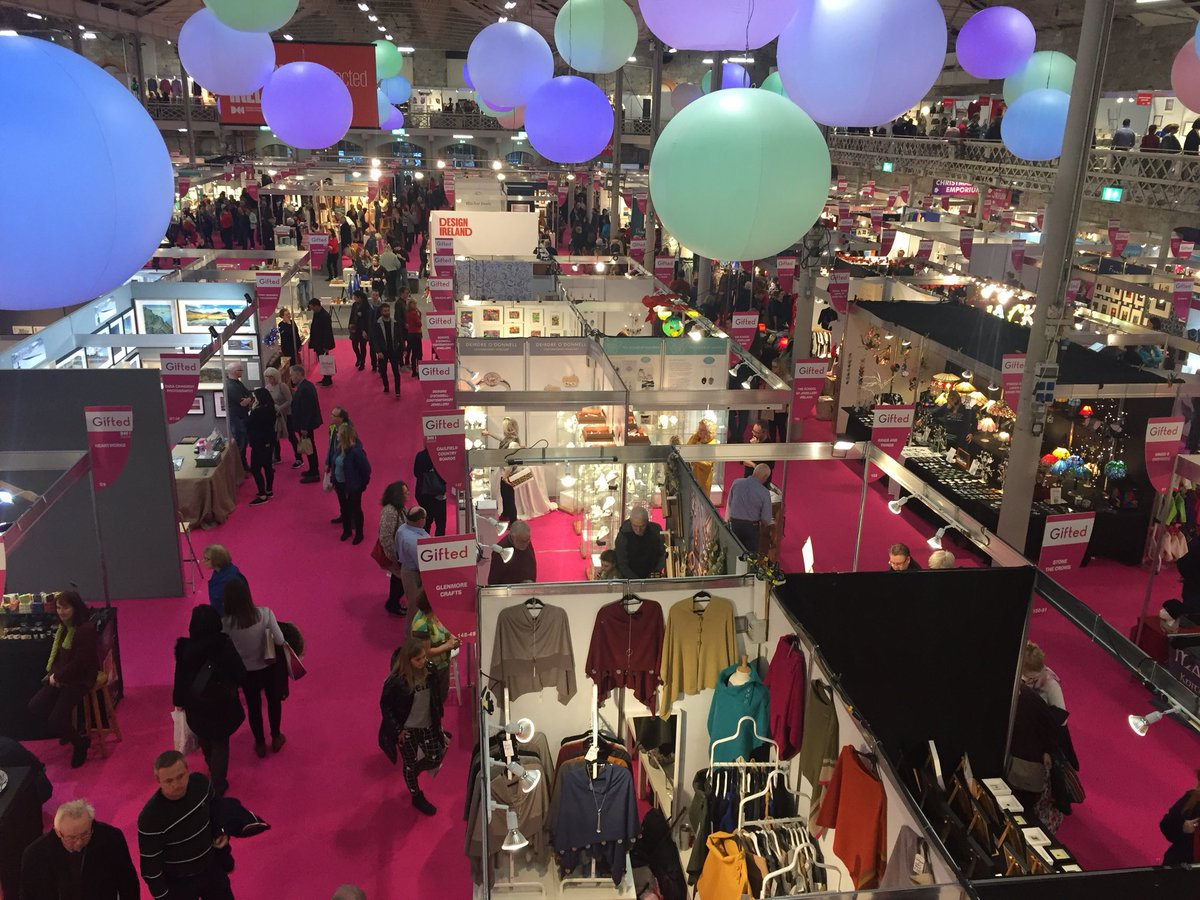 Brilliant to see so many brilliant Donegal businesses at Gifted in the RDS today. If you are in Dublin that's where to go for a perfect gift.