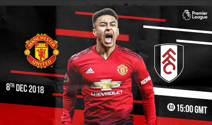 🏆 EPL 2018 2019, MW15 ⚽️ Man Untd vs Fulham FC 🗓️ Sabtu, 08 12 2018 ⏲️ Kick Off Wib 🖥️ MNC TV & BeIn Sport3 📡 Soccer TV #GGMU Photo