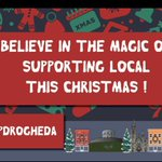 Image for the Tweet beginning: Shop Local this Christmas @foods_gerry