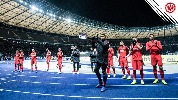 Danke, Eintracht-Fans! Auf euch ist Verlass ❤️ #BSCSGE #SGE Foto