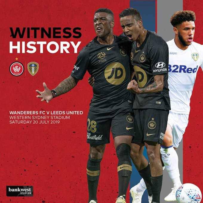 Want to be the first to know about all the latest Wanderers news and when tickets go on sale for our historic match against Leeds United? 📧 Subscribe to our mailing list at #WSW Photo