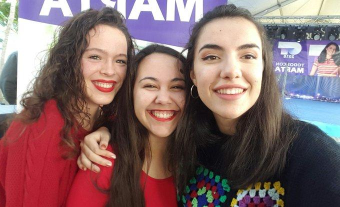 Ha sido lo más conocerte, gracias por ser tú❤ #SelfiesForMarta Foto