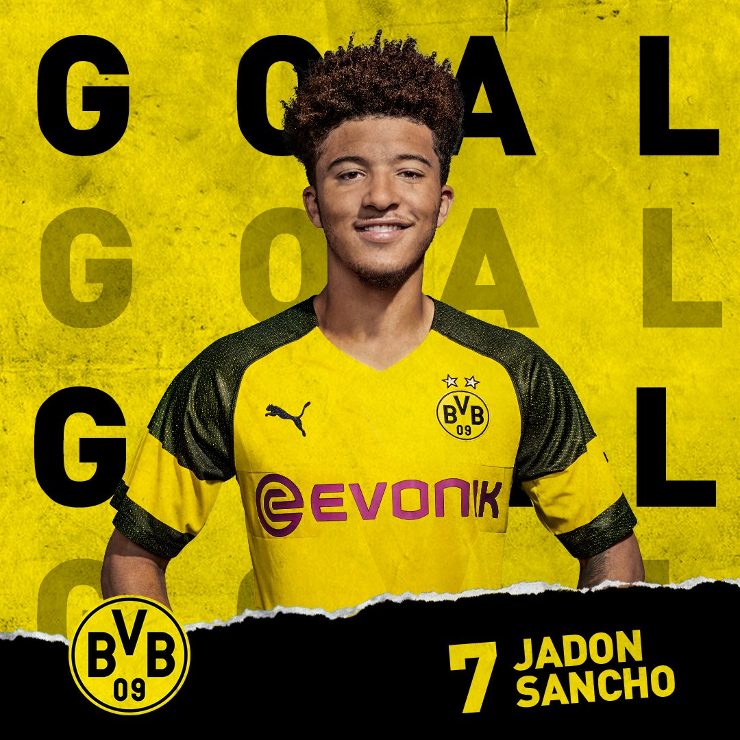 73 | GOOOOAAAAALLLLLLL!! IT'S IN THE BACK OF THAT BLUE TEAM'S NET!!!  SANNCHOOOOOOOOOO WITH THE FINISH!!   #Revierderby 1-2