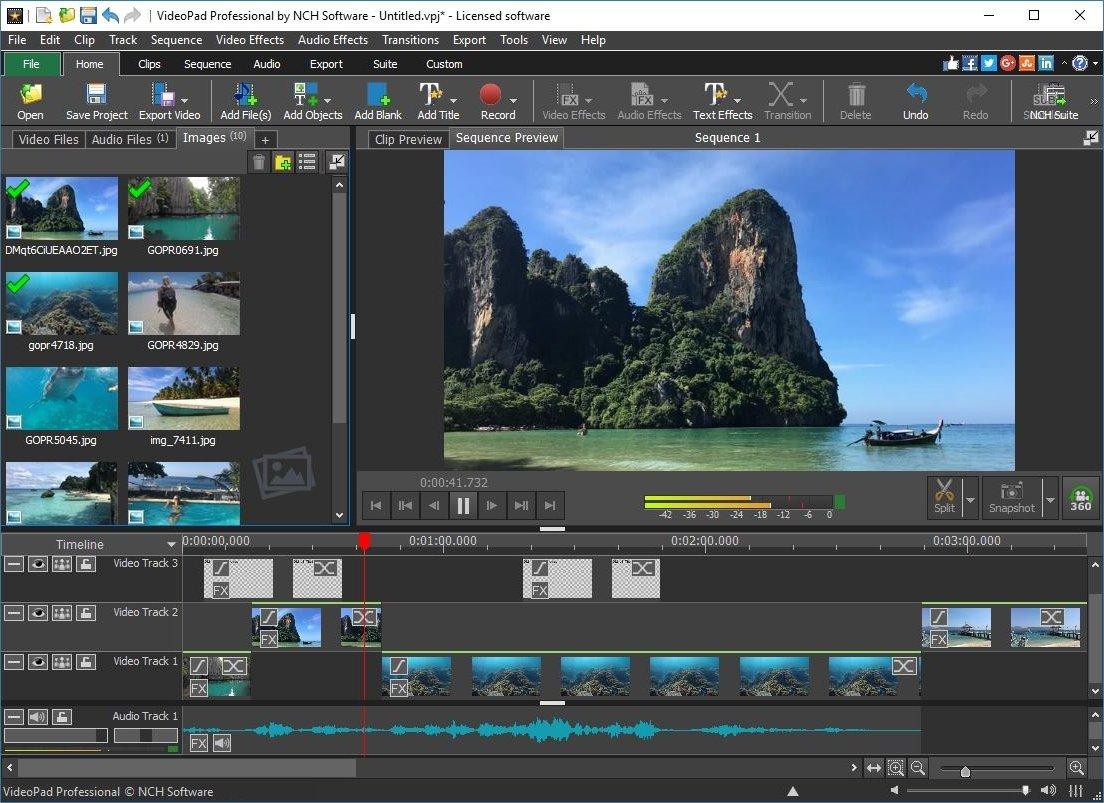 برنامج VideoPad من برامج تحرير الفيديو والصوت المميزة للويندوز والماك، Dt6AzN6WwAIGt6d