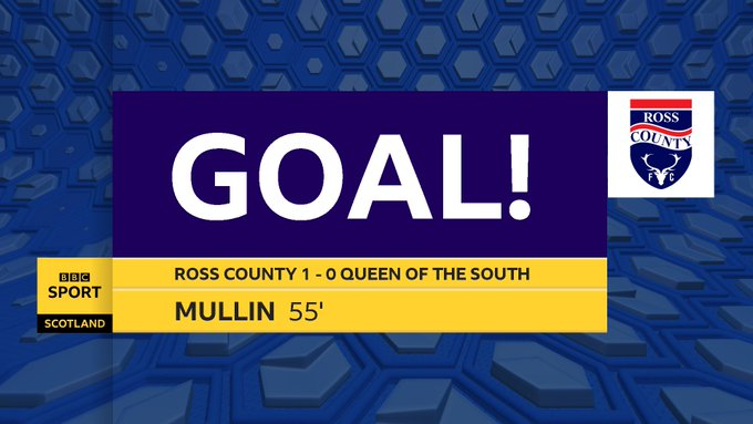 GOAL! Josh Mullin nets his 7th of the season to break the deadlock at Dingwall! #BBCSportsound Photo