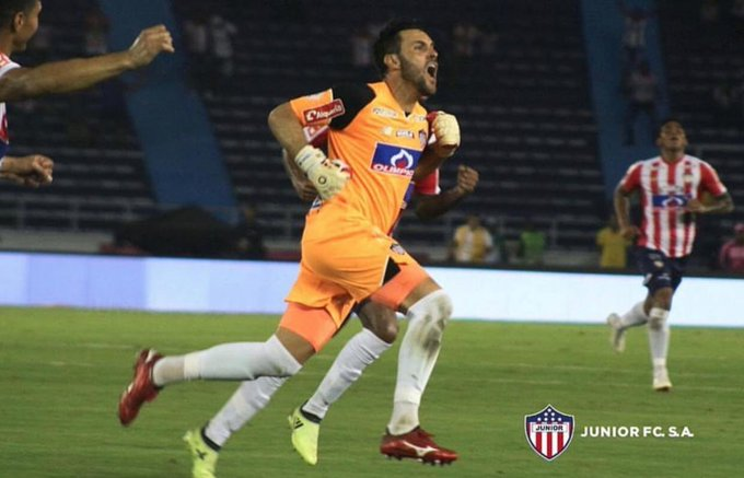 #DatosJunior🇦🇹 El 25 de agosto del presente año se presentó el último partido ente Junior y Medellín en el Metro. Ese día logramos vencer a los antioqueños 2-1 con goles de Luis Díaz y Sebastián Viera. Hoy vamos en busca de repetir el triunfo en esta final. #VamosJunior🔴⚪🔵 Photo