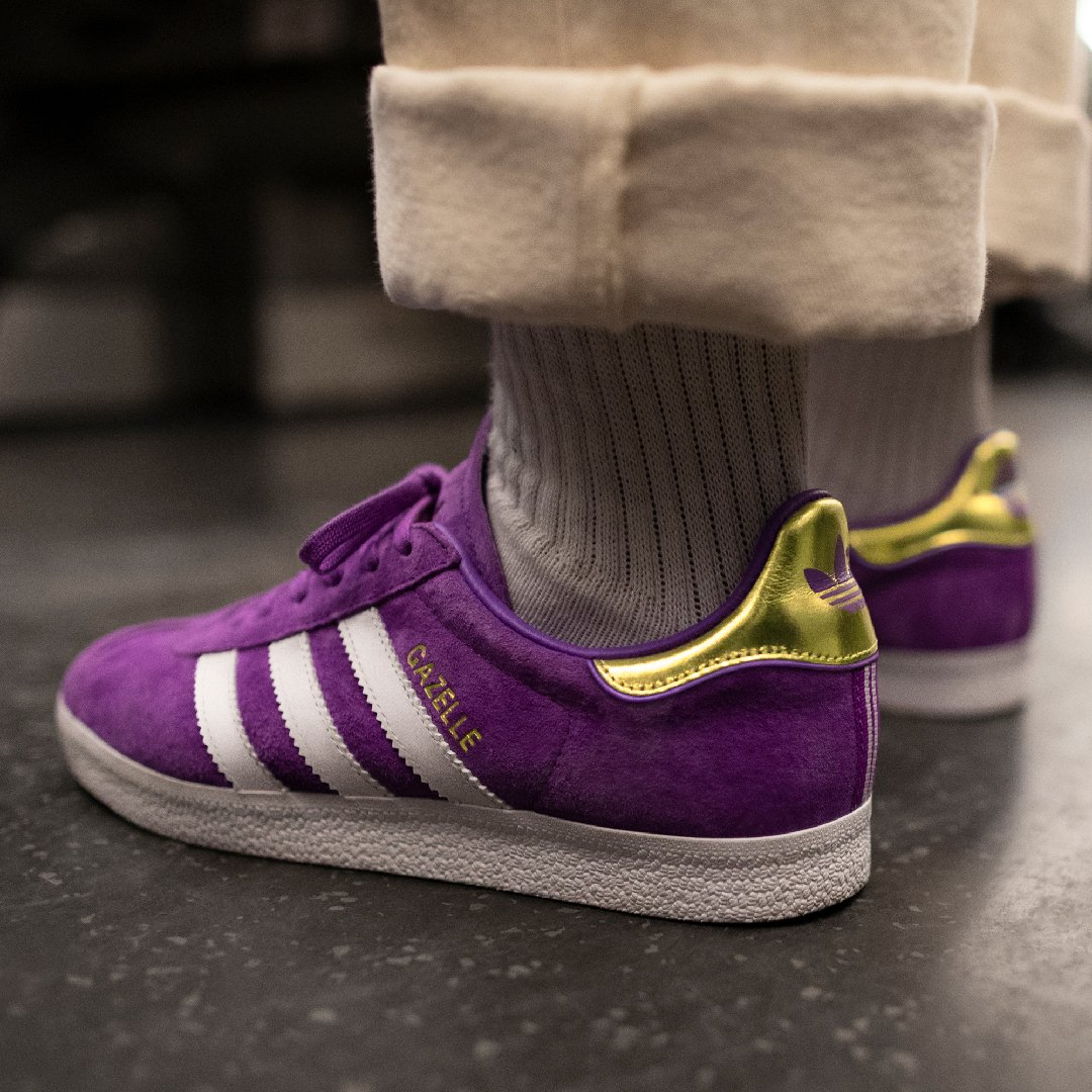 buy online c9f7a a57f8 the adidas originals gazelle shoe celebrates the bold and brave creating  the city s future shop