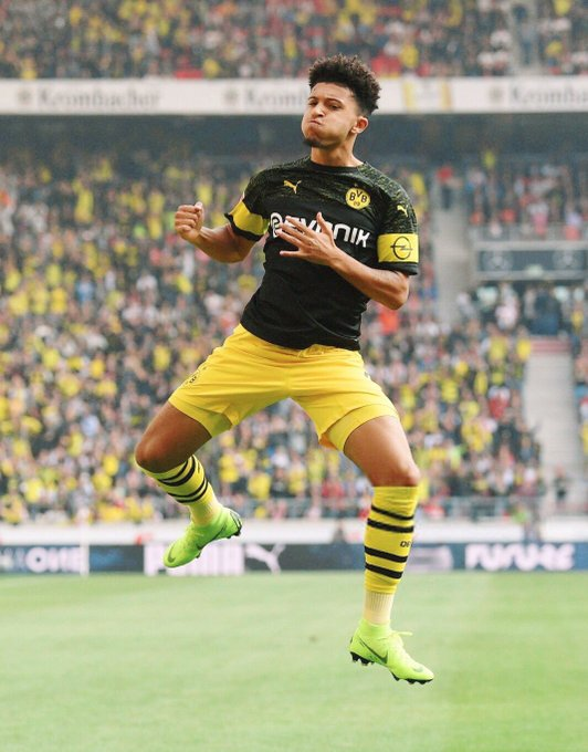 Setting standards 🏆 Jadon Sancho and Reiss Nelson are proving why moving away from the Premier League will allow English talent to flourish: Photo
