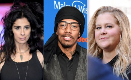 Plot Twist: Nick Cannon Digs Up Homophobic Tweets From Amy Schumer, Sarah Silverman And Chelsea Handler — Are They Cancelled, Too??? Photo: Josiah Kamau/Karwai Tang/Michael Kovac / Getty Photo