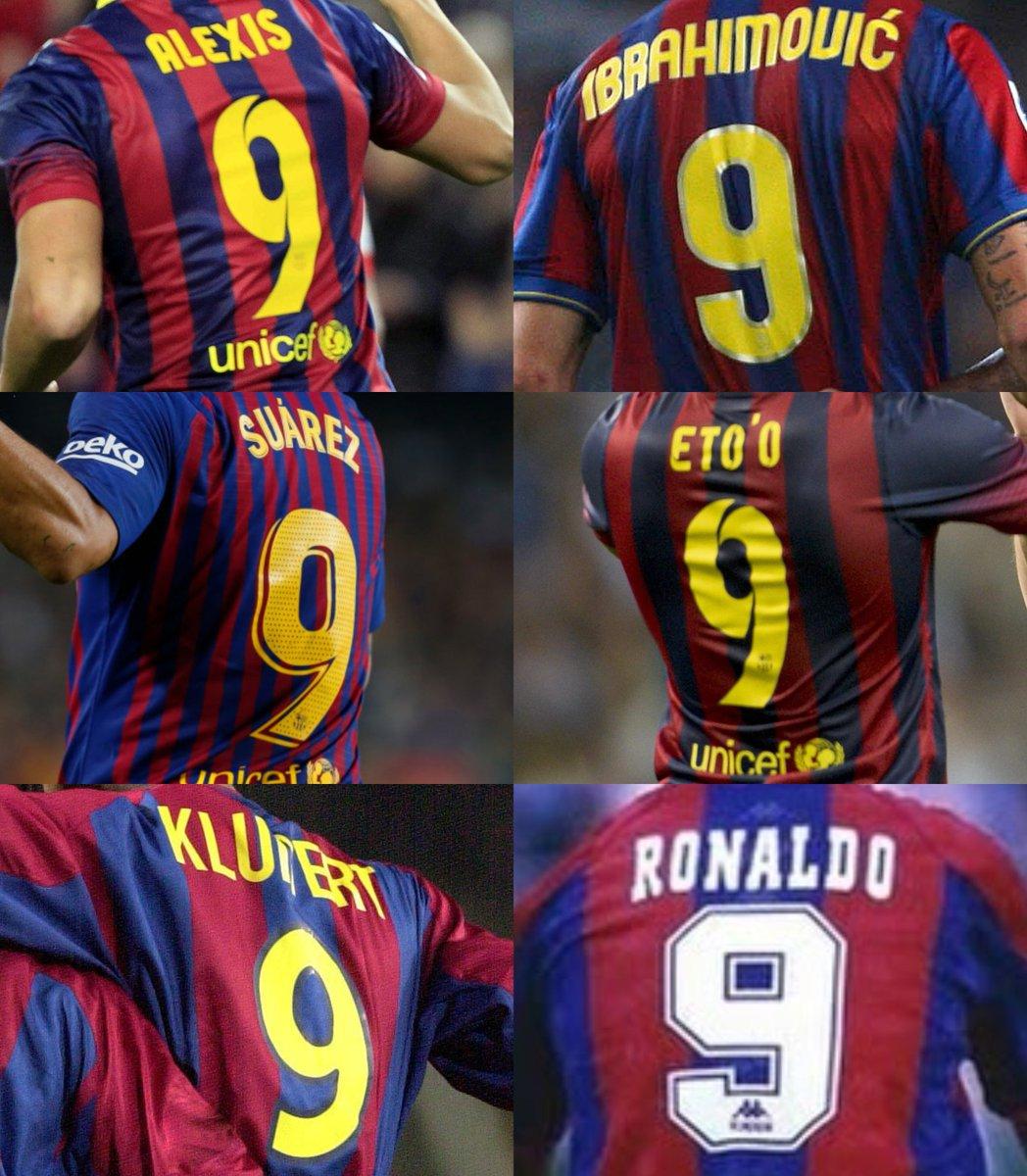 💙9⃣❤  ¿Cuál es tu 9 favorito de la historia del @FCBarcelona_es?