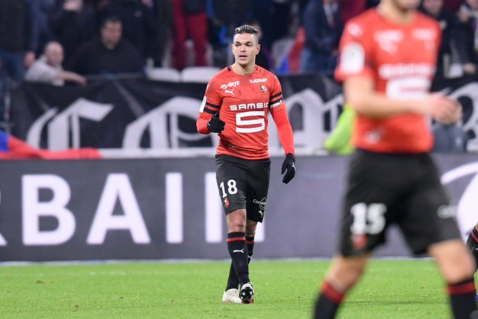 ✨⚽⚽✨ Hatem Ben Arfa has found the net in each of his last two league matches for @staderennais Can he keep up his good form today against @DFCO_Officiel? Watch live from: 2:00 ET 🇺🇸 (beIN USA) 19:00 🇬🇧 (BT) 00:30 🇮🇳 (beIN Asia) #SRFCDFCO Photo