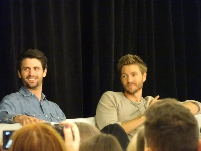 On commence le panel avec @ThisIsLafferty et @ChadMMurray #123Ravens #OTH Photo
