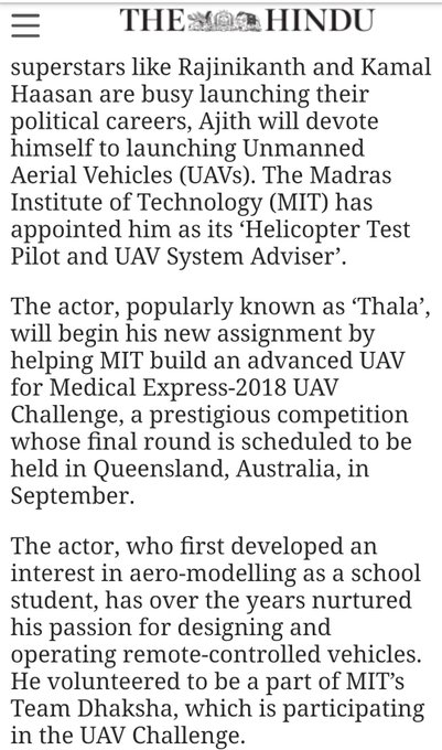 This news is enough to show what ajith sir done in 2018 தல #2018MemoriesofTHALA ❤️ Photo