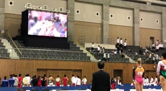 ⚡Alexa Moreno gana oro en la Copa del Mundo de Japón 📍La gimnasta mexicana superó a la rusa, Subcampeona Mundial por equipos Lilia Akhaimova y a la japonesa Hitomi Hatakeda #OrgulloMexicano🥇 Foto