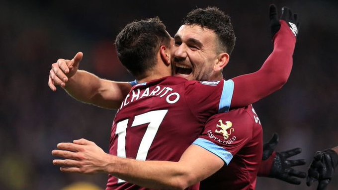 #PL FT: West Ham 3-2 Crystal Palace ⚽️ McArthur 6' ⚽️ Snodgrass 48' ⚽️ Hernandez 62' ⚽️ Anderson 65' ⚽️ Schlupp 76' #WHUCRY Photo