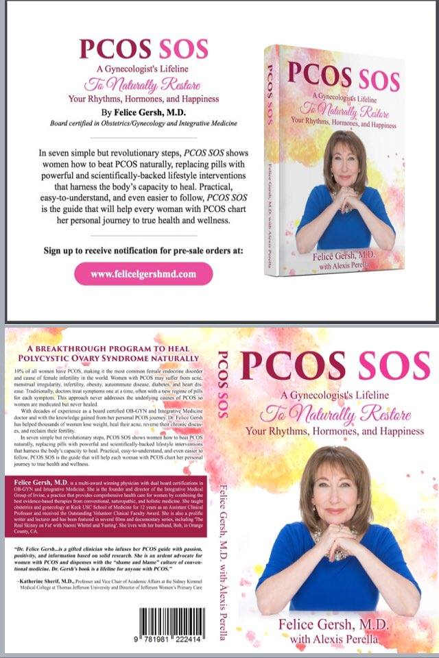 Felice Gersh Md On Twitter My Book On Pcos Coming In 2019 Excited
