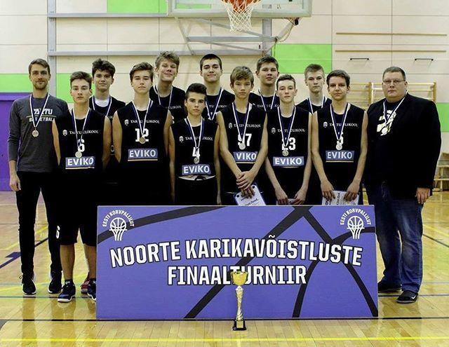 test Twitter Media - Tartu Ülikool/Eviko U16 vanuse karikavõistluste hõbe 🥈 #unitartubasket #tartubasketball #tartuülikool https://t.co/4iScIyRARB https://t.co/P9KZgGPKur