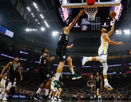 Warriors encestan 19 triples y derrotan a Bucks por 105-95 #Bucks #Warriors #por https://t.co/4zsD1owxRL
