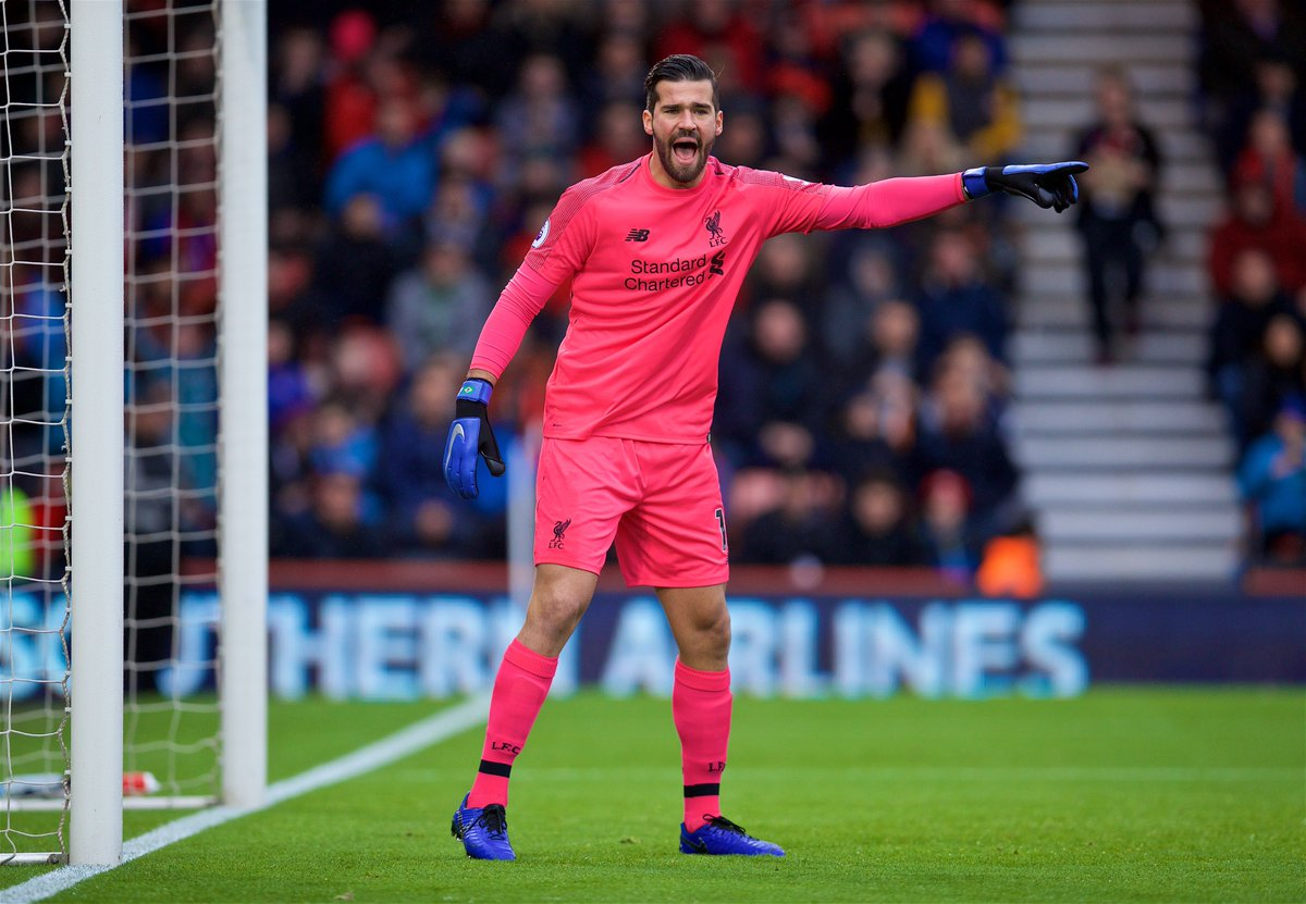 💪 @Alissonbecker becomes the first Red to remain unbeaten in his opening 16 @premierleague appearances for the club. #LFC