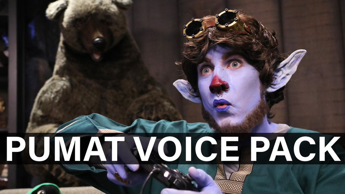 Pumat Sol and his simulacrums are here with an important message! The Pumat Sol Voice Pack from @TheOverwolf allows you to add our favorite shopkeepers voice to some of your favorite PC games. WATCH: youtu.be/uIgRGxJyaRw Order the Pumat Voice Pack at: critrole.com/killervoices