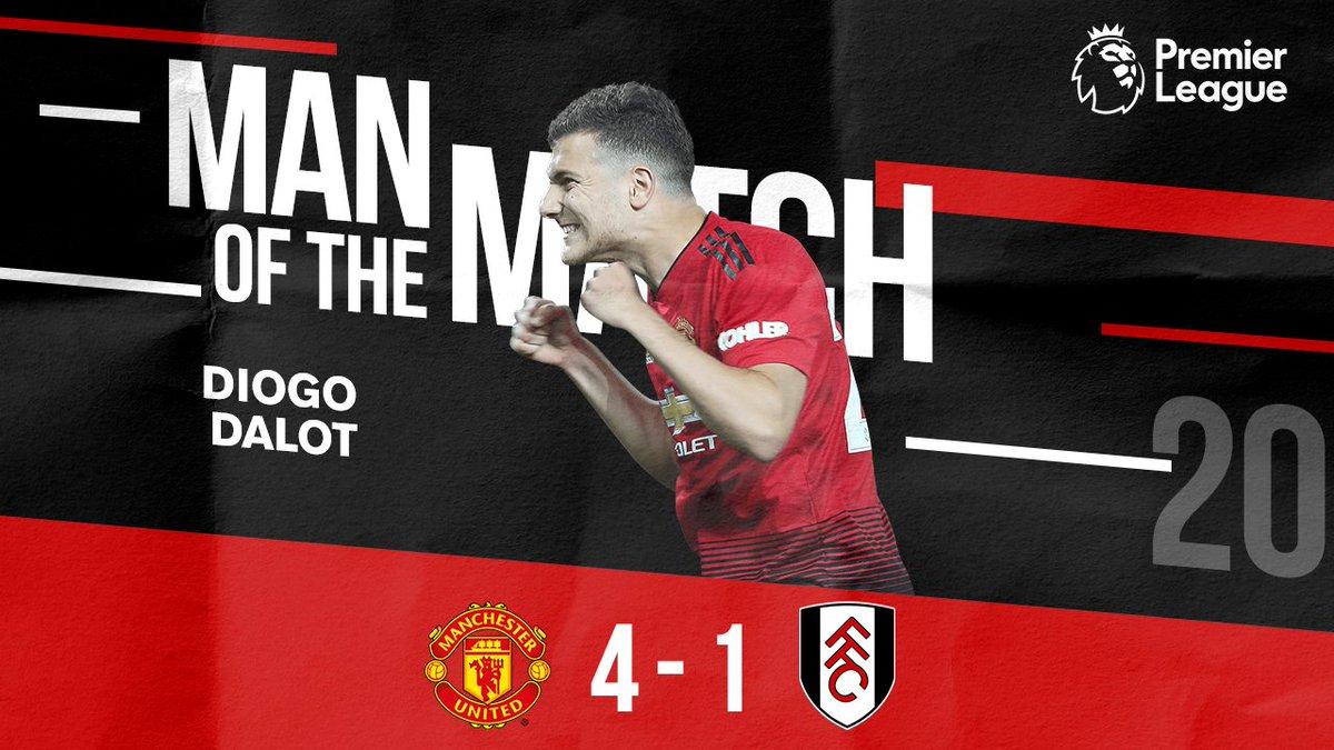 Simply immense.  A worthy Man of the Match winner - big congrats, @DalotDiogo! #MUFC #MUNFUL