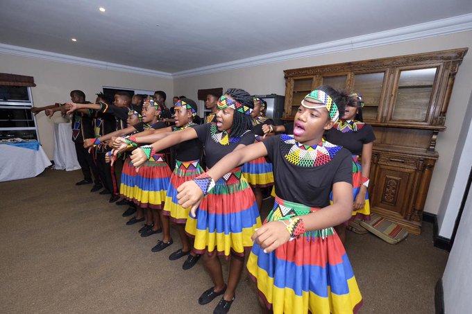 The Ndlovu Youth Choir still has us mesmerised. #JacaCarols Photo