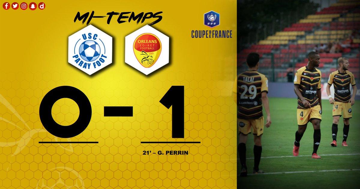 Coupe de France 8ème tour   USC Paray Foot (R1) -  US Orléans Dt6ZacpW0AAPKBH