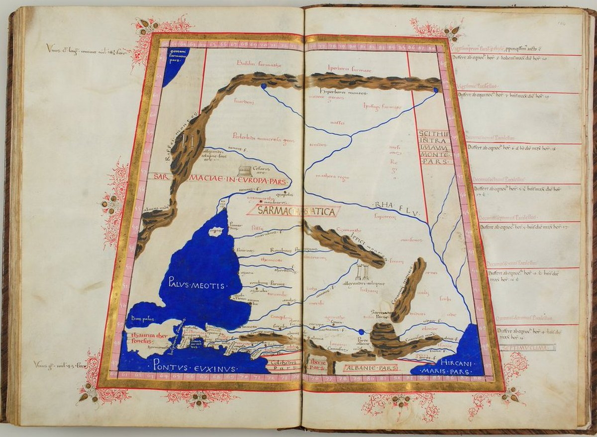 Latin translation of «Cosmographia» (#Cosmography - By #Ptolemy) https://t.co/a7mWYhSDbF [#Geocentrism #Geocentric #GeocentricModel #PtolemaicSystem #Maps #FlatEarth] https://t.co/fhgaYRD5w8 #SeaOfAzov #Russia🇷🇺 #Caucasus Mountains https://t.co/M89aN0QJiN https://t.co/g776xqQeKn
