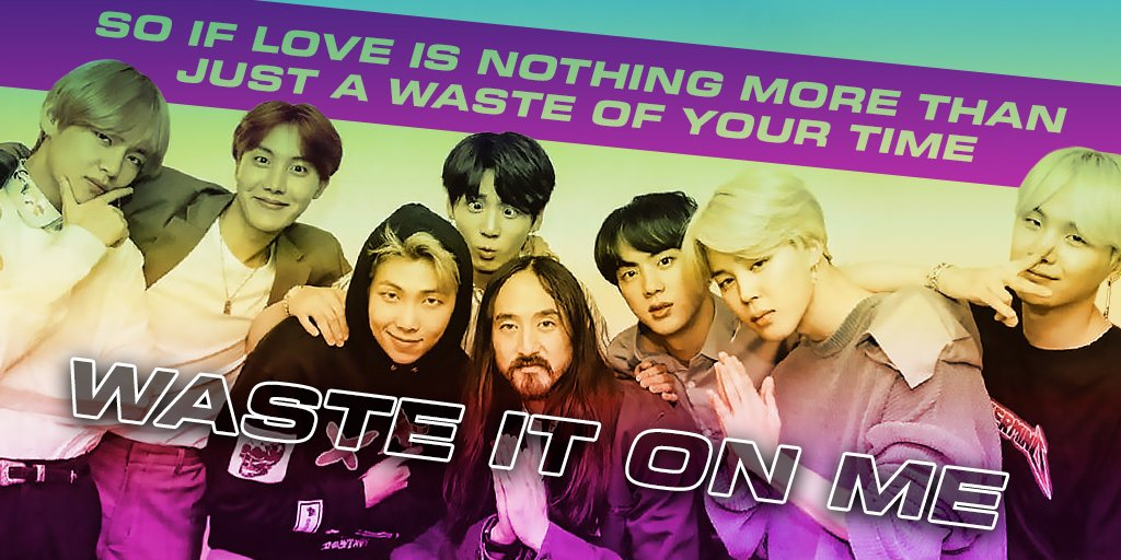 #WasteItOnMe by @steveaoki f. #BTS is the new #1 song on Radio Disney this week! @BTS_twt @bts_bighit