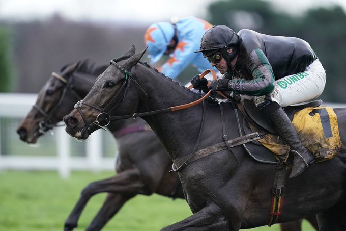 Altior was awesome today! Well done to all the team at Seven Barrows to get him spot on. Photo