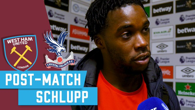The manager and Jeffrey Schlupp spoke to Palace TV after the game at West Ham. #WHUCRY 📺 Watch the interviews on or the official club app 📱 Photo