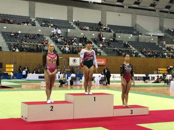 La mexicana Alexa Moreno ganó oro en salto con caballo en Japón Foto