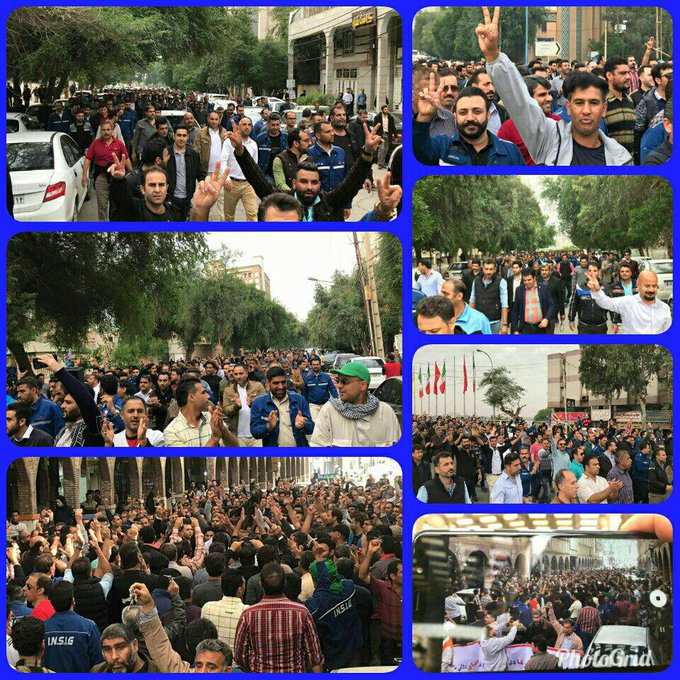 The IndustriALL Global Union's Iranian affiliate,Union of Metalworkers & Mechanics of Iran condemned the recent treatment of striking workers especially that of detained Haft Tappeh Sugarcane Factory representative Esmail Bakhshi who was tortured in prison Фото