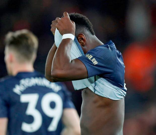 Paul Pogba against Fulham (H) 0 Passes Completed 0% Pass Completion Rate 0 Goals 0 Assists 0 Shots on target 0 Shots 0 Successful Dribbles 0 Successful Tackles 1 Disasterclass Photo