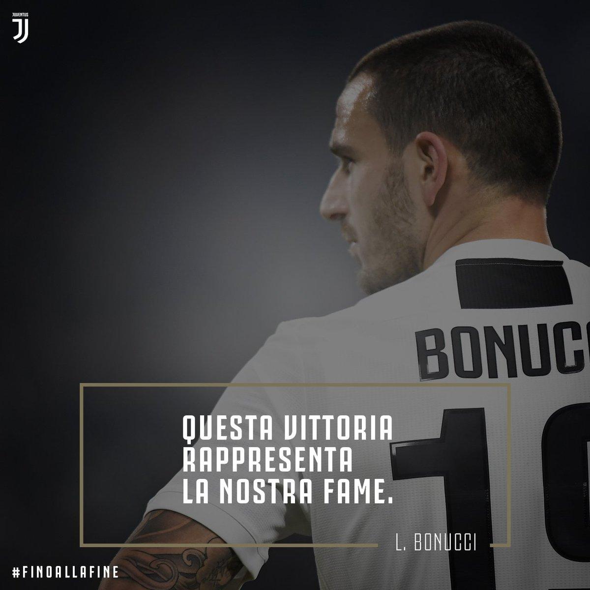 👊 @bonucci_leo19 👊 #JuveInter #ForzaJuve