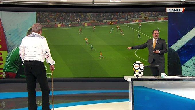 Galatasaray - Çaykur Rizespor karşılaşmasının kritik pozisyonlarını Erman Toroğlu yorumluyor. @serkan_korkmaz #TakımOyunu Fotoğraf