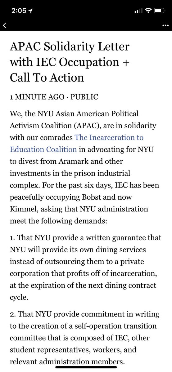 NYU Asian American Political Activism Coalition