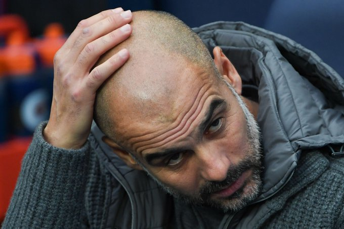 3 - Pep Guardiola has now lost three league games against Chelsea as a manager; more often than against any other opponent. Blue. #CHEMCI Photo