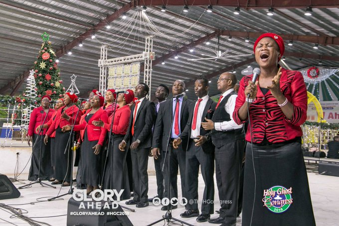 🎶🎶🎶 My Glory and the lifter up of my - Region 10 choir Holy Communion & Anointing Service #RCCGHGC #HGCDay6 Photo
