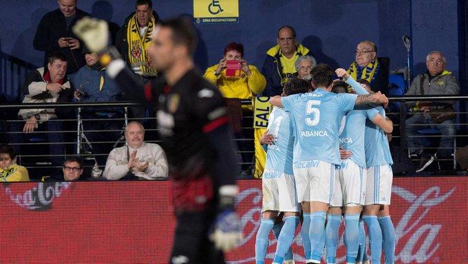FINAL: Villarreal 2-3 Celta ¡Los de Calleja se quedan a media remontada y los gallegos se llevan los 3 puntos! #VillarrealCelta Foto