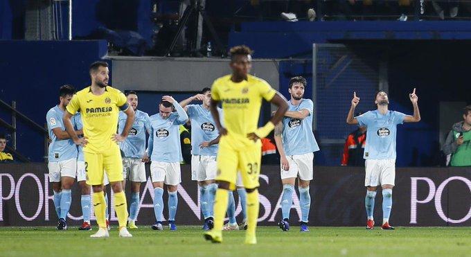 FINAL | El Celta gana al Villarreal (2-3), suma su segundo triunfo consecutivo y se coloca en el centro de la clasificación #LaLiga #VillarrealCelta Foto