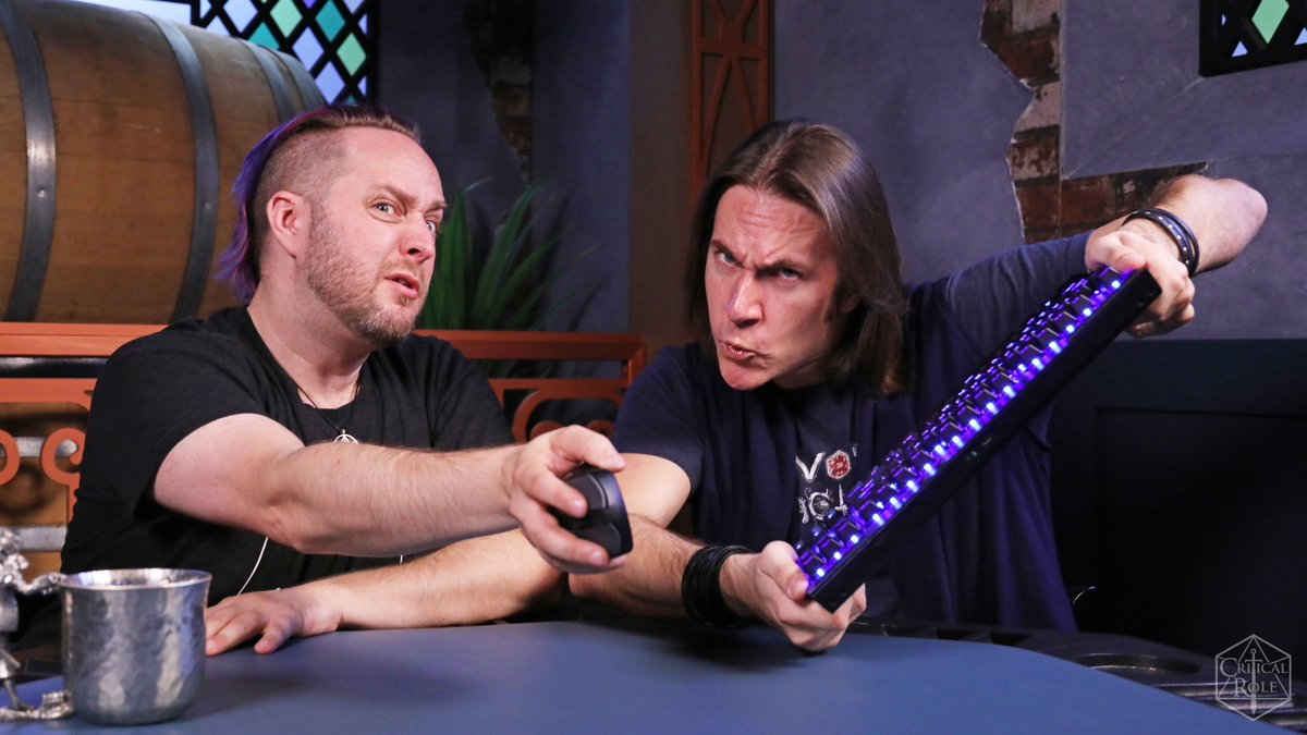 Almost time for #EverythingIsContent: Fortnite with @executivegoth & @matthewmercer, feat. the custom Pumat Sol Voice Pack from @TheOverwolfs Killer Voices! Coming up at 12pm PST on twitch.tv/criticalrole! To order the Pumat Sol Voice Pack, visit: critrole.com/killervoices #ad